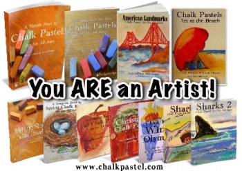 chalk pastel art tutorials