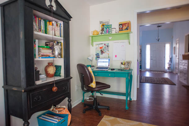 homeschool mom's office