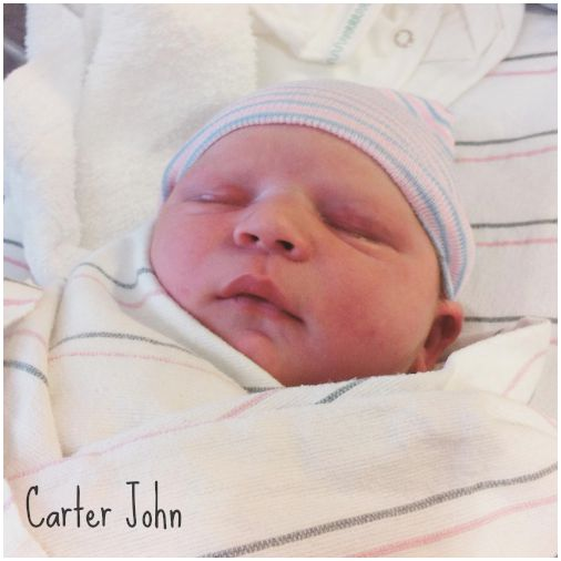 Baby Carter is here!