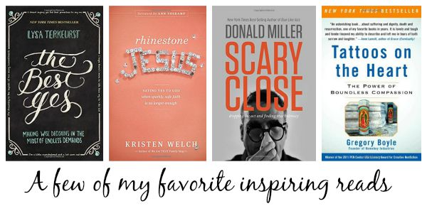 favorite inspiring reads