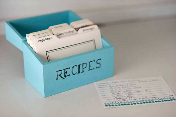 Vintage style diy recipe box see jamie blog recipe box and recipe cards thecheapjerseys Images