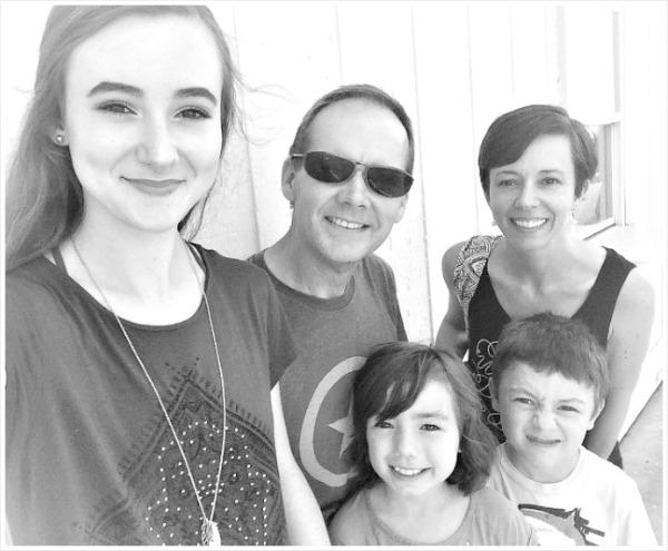family selfie September 2016