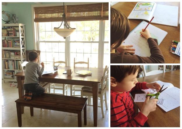 homeschool january