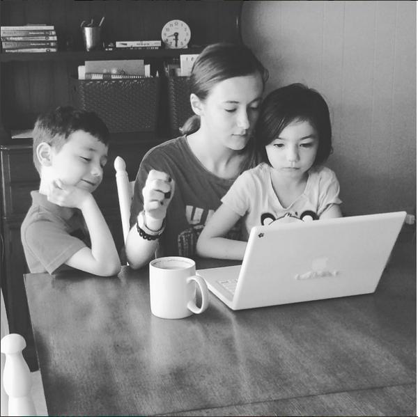 homeschool siblings