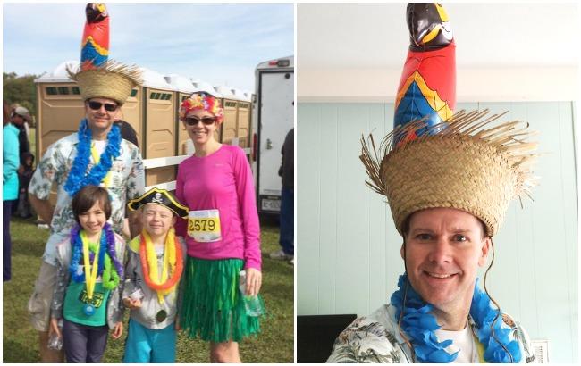 parrot hat