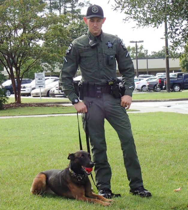 Sheriff K9 officer