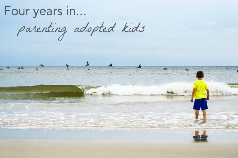 Four years in: parenting adopted kids