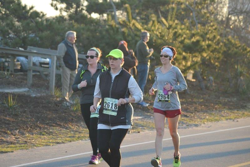running Oak Island half marathon