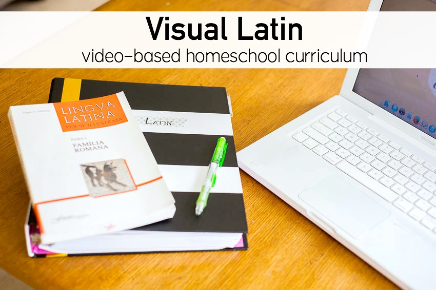 Visual Latin homeschool curriculum review