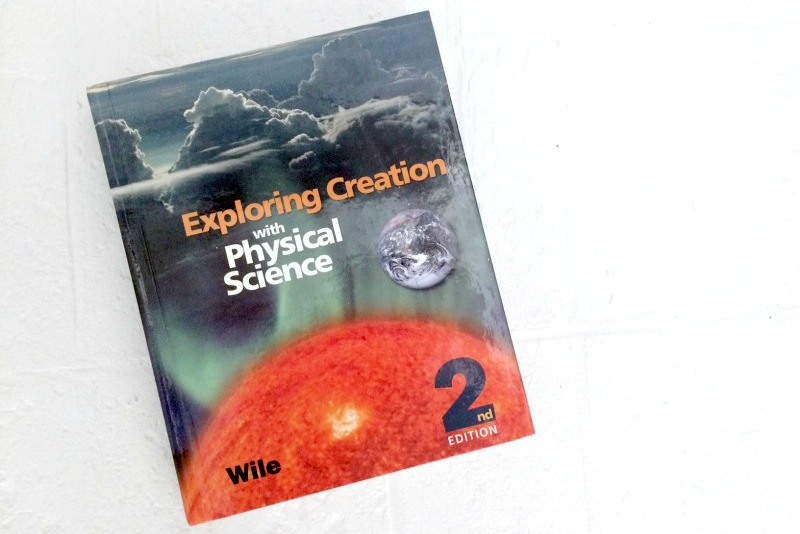 Apologia's Physical Science for homeschool