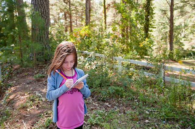 making a nature list