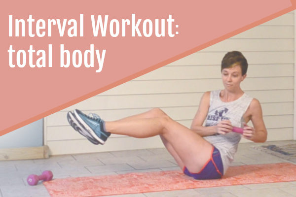 Total body interval workout