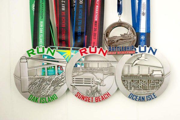 half marathon running medals