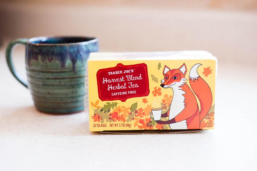 TJ's harvest blend tea