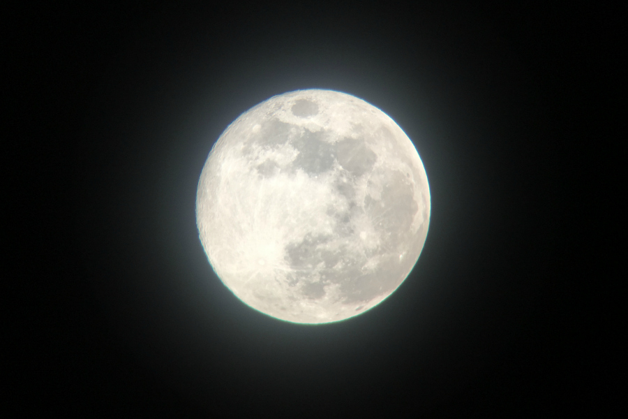 moon photo by Kathryn