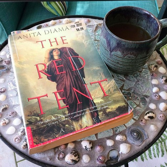 Red Tent - favorite book of the month