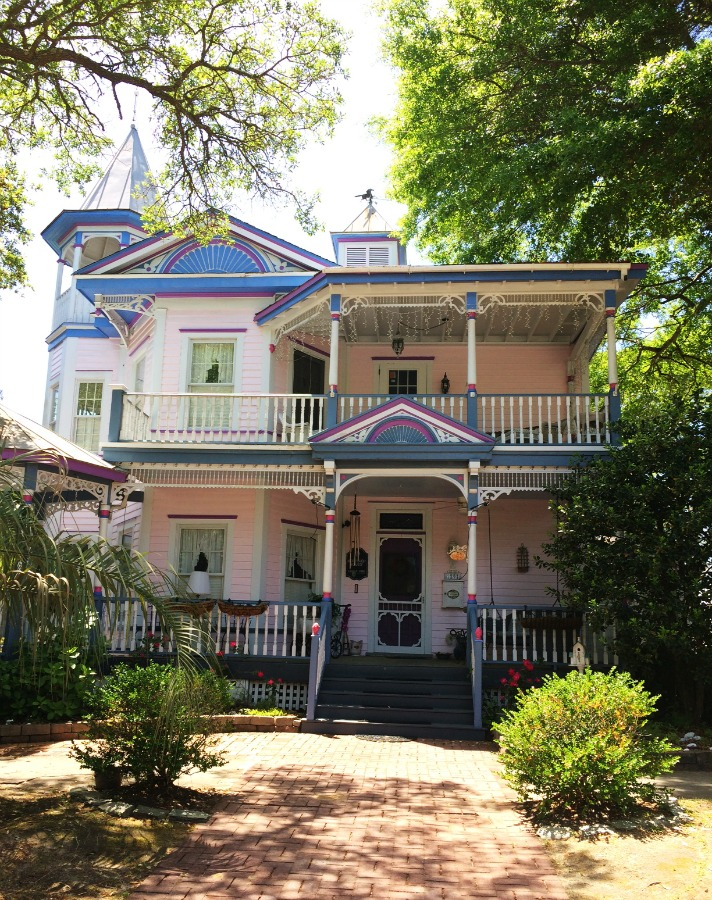 historic painted lady Victorian home