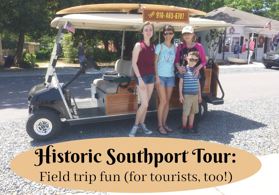 historic Southport Tour field trip