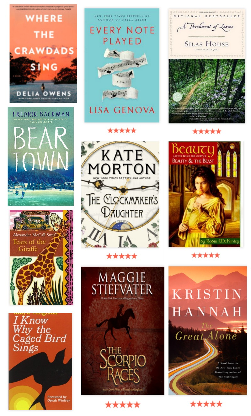 my 2018 top ten recommended books