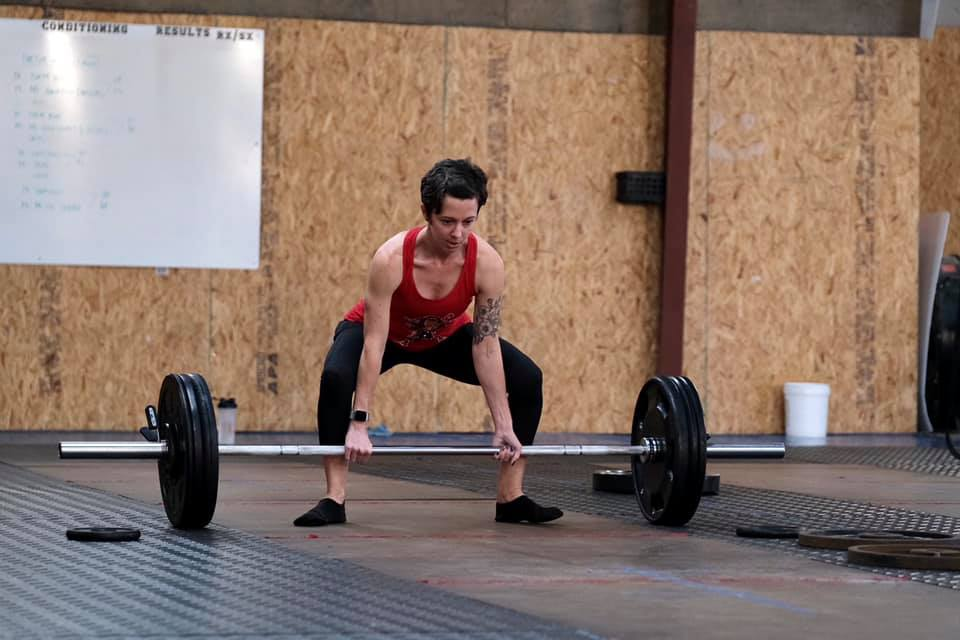 Deadlifting at my first powerlifting meet
